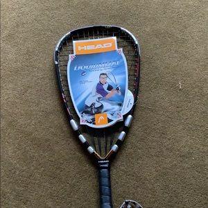 New with tags head raquet ball raquet